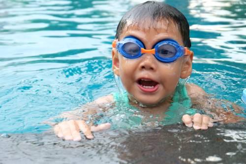 dítě voda