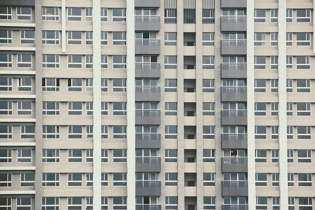 velký bytový dům
